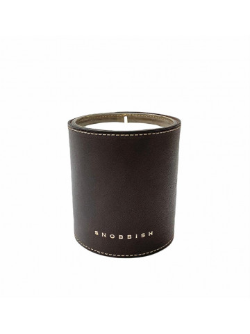 CANDLE - LEATHER CASHMERE WOOD